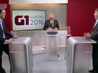 Candidatos de Santo André, SP, discutem propostas em debate no G1