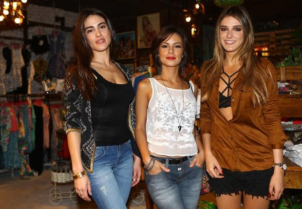 Luisa Moraes, Andreia Horta e Rafa Brites (Foto: Iwi Onodera / EGO)