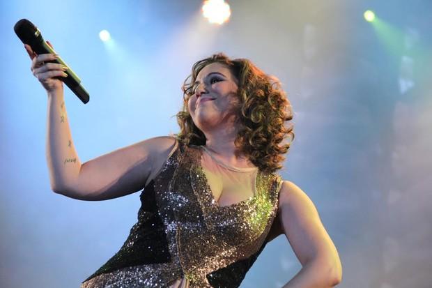 Maria Rita em show no Rio (Foto: Alex Palarea/AgNews)