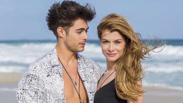Rock Story: Vitti comenta parceria com Alinne Moraes (Gshow)