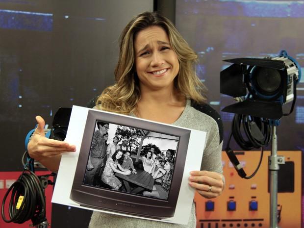 Fernanda Gentil conta que Sandy & Junior marcou sua vida (Foto: Marcos Mazini/Gshow e CEDOC)