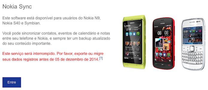 Faça login em sua conta Nokia (Foto: Reprodução/Helito Bijora)