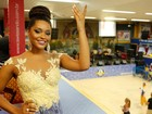 Rainha de bateria, Juliana Alves brilha em ensaio da Unidos da Tijuca