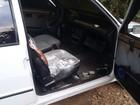 Ladrões usam carro para arrombar porta de metal e furtar loja de Tibagi
