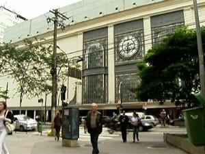 Shopping Pátio Paulista (Foto: Reprodução/TV Globo)