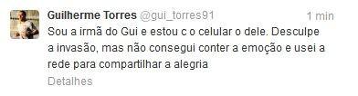 Guilherme Corinthians Twitter (Foto: Reprodução/Twitter)
