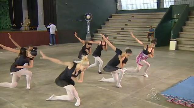 Ballet Branca de Neve, em Manaus (Foto: Bom Dia Amazônia)