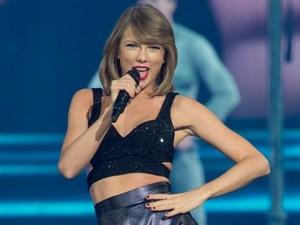 Taylor Swift foi uma das primeiras artistas a declarar guerra ao Spotify  (Foto: Getty Images)