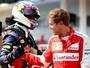 """Em 4º, Ricciardo acredita poder bater Vettel na corrida: """"Temos uma chance"""""""