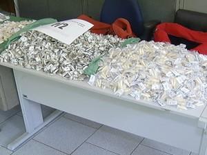 aprensao de drogas em cabo frio (Foto: Reprodução/Inter TV)