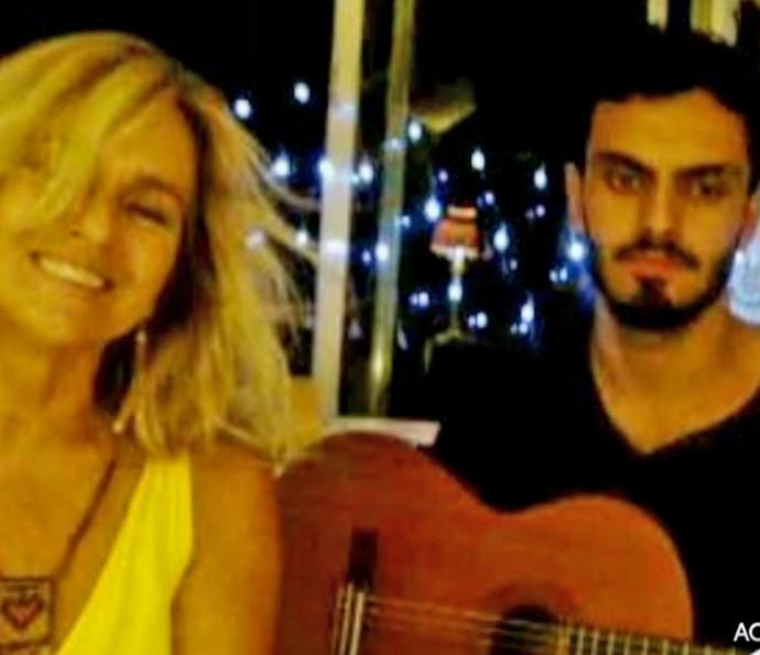Família de Chico Anysio divulga foto recente de Rian Brito, desaparecido no Rio de Janeiro (Foto: Vídeo Show)
