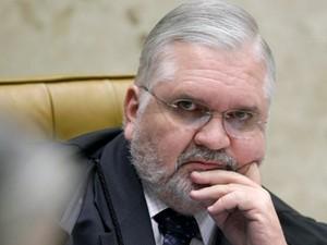 O procurador-geral da República, Roberto Gurgel, em sessão no STF (Foto: Fellipe Sampaio/SCO/STF)