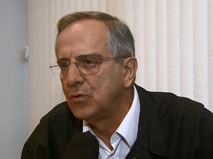 Prefeito de São Carlos registrou um boletim de ocorrência (Foto: Reprodução/EPTV)