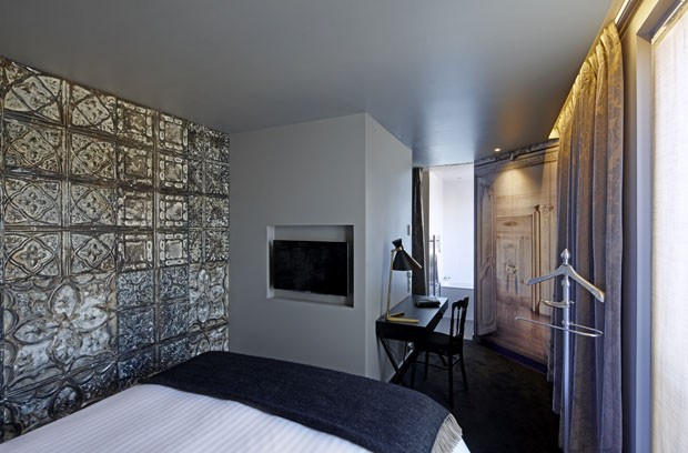 hotel celebra o neobarroco em paris casa vogue hot is. Black Bedroom Furniture Sets. Home Design Ideas