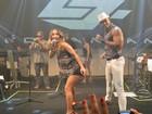 Claudia Leitte canta com Léo Santana em segundo show da noite