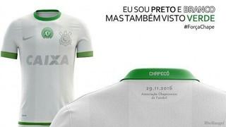 e82e98c10b Corinthians cogita uniforme verde em homenagem à Chapecoense