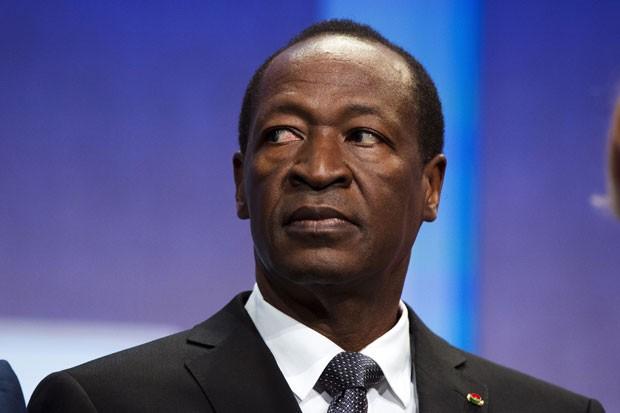 O presidente de Burkina Faso, Blaise Compaoré, em foto de setembro de 2013 (Foto: Lucas Jackson/Reuters)