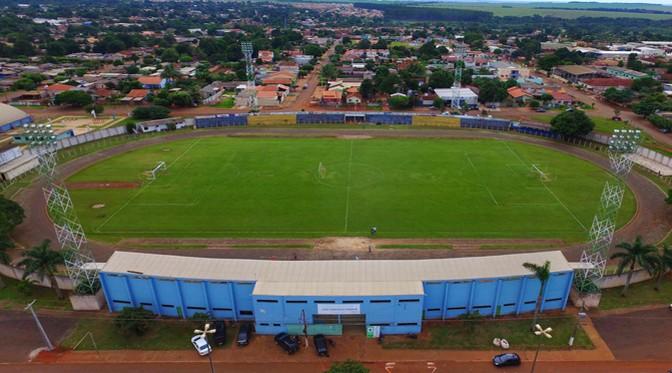 Estádio Loucão, em Maracaju (Foto: Divulgação/Governo de MS)