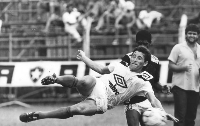 Mazolinha treino Botafogo 1989 (Foto: Manoel Soares / O Globo)