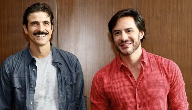 Reynaldo Gianecchini e Ricardo Tozzi  (Foto: Manuela Scarpa/Brazil News)