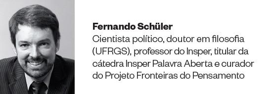 Fernando Schüler - Cientista político, doutor em filosofia (UFRGS), professor do Insper, titular da cátedra Insper Palavra Aberta e curador do Projeto Fronteiras do Pensamento  (Foto: divulgação)