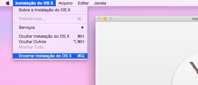 Finalize a instalação do OS X Yosemite (Foto: Reprodução/Helito Bijora)