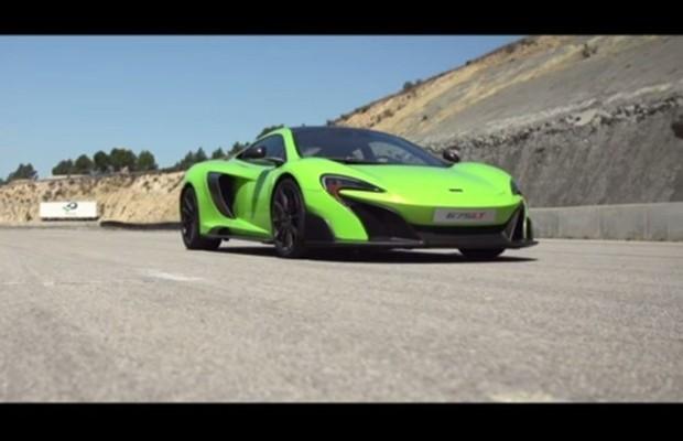 vídeo veja o mclaren 675lt em ação auto esporte notícias