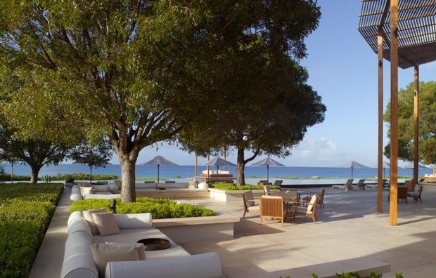 Hotel em que Fábio Assunção e Pally Siqueira estão hospedados no Caribe (Foto: Divulgação)