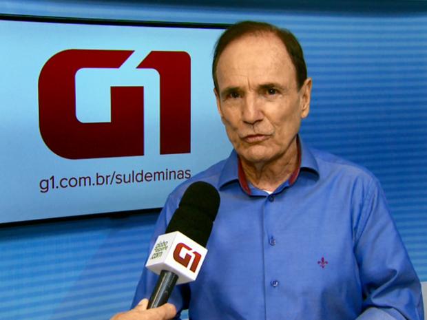 Antônio Silva, candidato à prefeitura de Varginha pelo PTB (Foto: Reprodução G1)