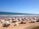 Banho deve ser evitado em 14 praias (Alan Tiago Alves/G1)