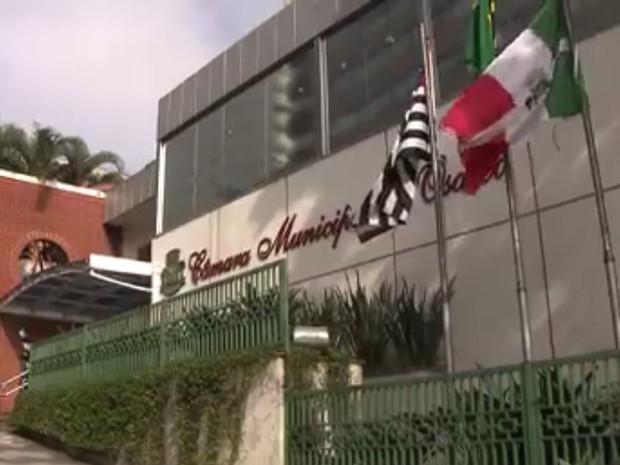 Câmara Municipal de Osasco (Foto: TV Globo/Reprodução)