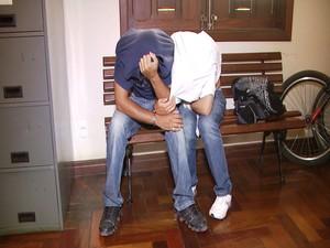 Jovens apreendidos em Carmo da Mata são suspeitos do crime (Foto: TV Integração/Reprodução)