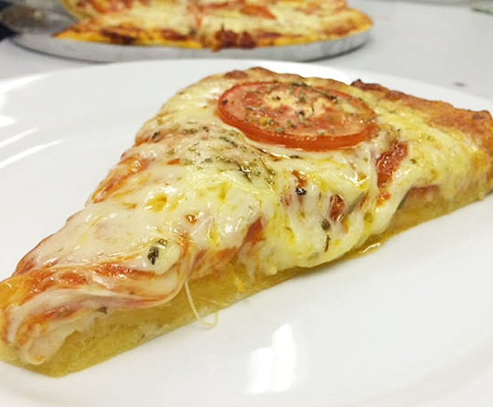 Pizza Leve da Anitta (Foto: Gshow)
