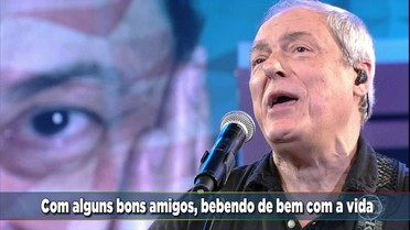 Toquinho canta 'Aquarela' no Ding Dong