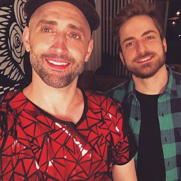 Paulo Gustavo e Thales Bretas (Foto: Reprodução/Instagram)