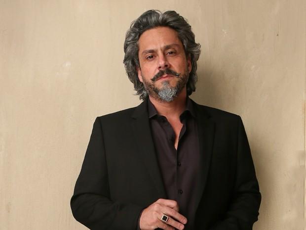 """Alexandre Nero """"empresta"""" o seu charme para José Alfredo (Foto: Isabella Pinheiro/TV Globo)"""