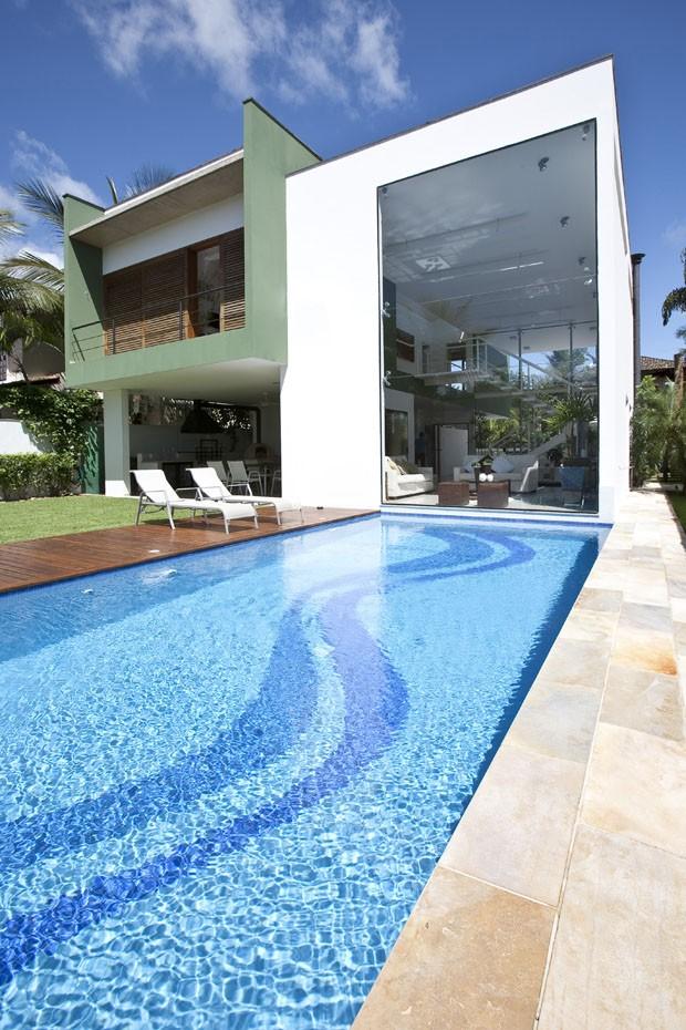 Casa de praia para reunir os amigos casa vogue casas for Piscina q lar