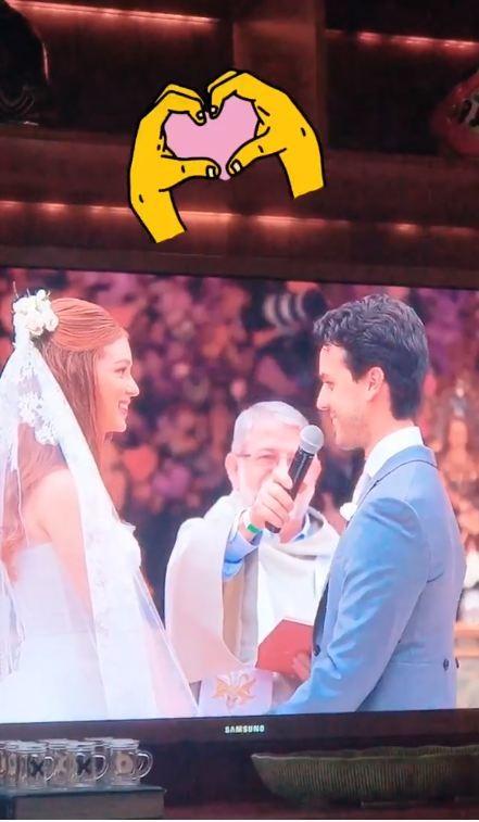 Casamento Marina Ruy Barbosa e Alexandre Negrão (Foto: Reprodução/Instagram)