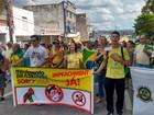 Manifestantes fazem ato contra o governo Dilma em Sorocaba e Jundiaí