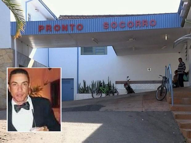 Polícia faz acareação para esclarecer morte de pintor em São Gonçalo do Sapucaí (Foto: Reprodução EPTV)
