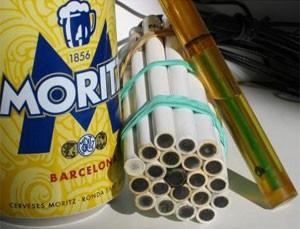 A 'língua eletrônica', estes 21 canudos amarrados juntos, reconhece tipos diferentes de cerveja (Foto: Divulgação/Manel del Valle)