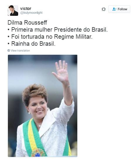 dilma (Foto: Reprodução/Twitter)