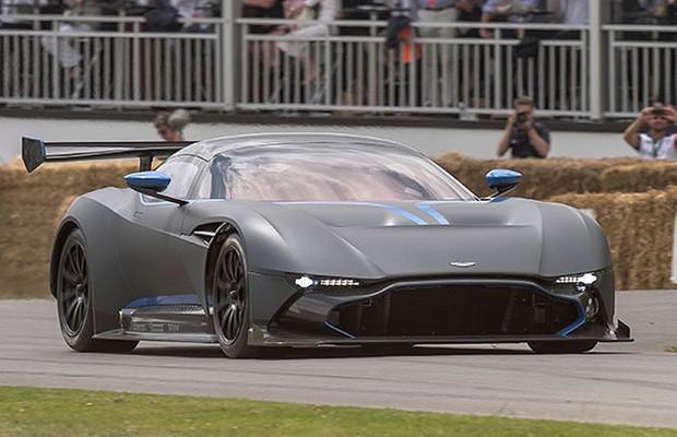 Aston Martin Vulcan (Foto: Divulgação)