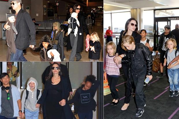 Crianças - Filhos de Angelina Jolie e Brad Pitt (Foto: X17)
