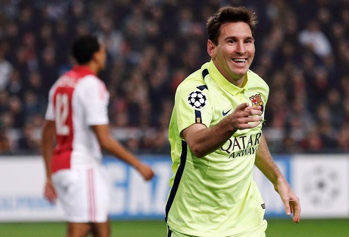 Ajax x Barcelona - Messi (Foto: Reuters)