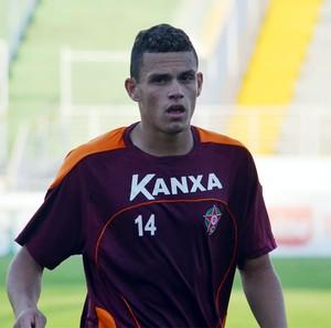 Pedro Augusto, atacante do Boa Esporte (Foto: Tiago Campos)