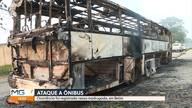 Mais um ônibus é queimado em Betim, na Região Metropolitana de Belo Horizonte