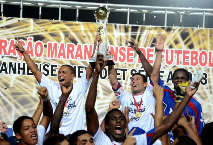 Maranhão vence Imperatriz de virada e garante 14º título estadual (Foto: Paulo de Tarso Jr/Imirante)