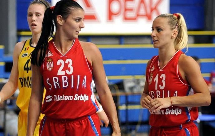 Ana Dabovic Milica Dabovic Sérvia Mundial feminino basquete (Foto: Reprodução/Facebook)