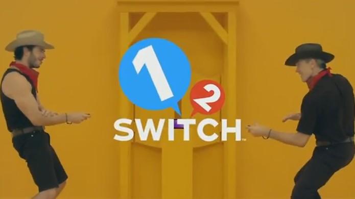 1, 2, Switch traz minigames simples e acessíveis para o Nintendo Switch e seus Joy-Cons (Foto: Reprodução/YouTube) (Foto: 1, 2, Switch traz minigames simples e acessíveis para o Nintendo Switch e seus Joy-Cons (Foto: Reprodução/YouTube))